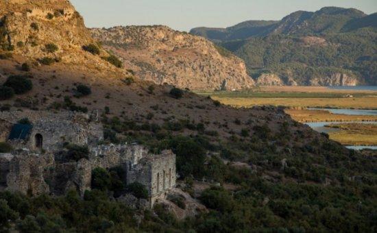 Die Antike Stadt Von Kaunos